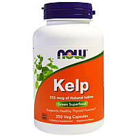 Натуральный Йод Now Foods Kelp   250 капсул