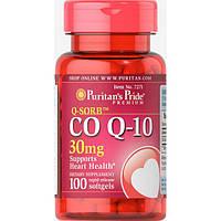 Коэнзим Puritans Pride CO Q-10 30 мг 100 гель.капс