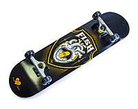 СкейтБорд деревянный от Fish Skateboard Heart, фото 1
