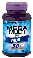 Вітаміни і мінерали Piping Mega Rock Multiple for Men 50 Plus 100 капс