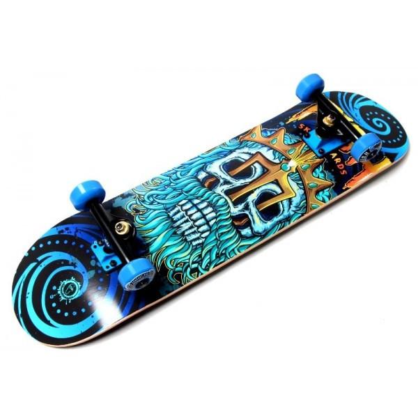 Дерев'яний СкейтБорд від Fish Skateboard Neptune (Польща)