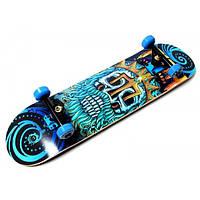 Дерев'яний СкейтБорд від Fish Skateboard Neptune (Польща), фото 1