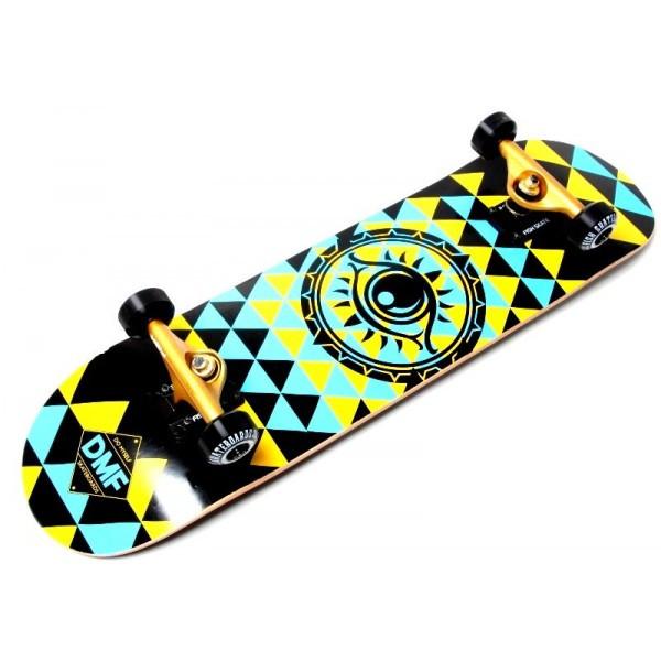 Скейтборд  деревянный от Fish Skateboard  Глаз (Польша)
