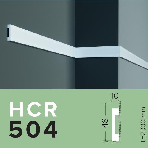 МОЛДИНГ GRAND DECOR HCR 504 (2.00М) полимерный для стен