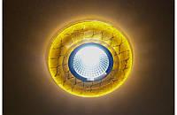 Светильник с LED подсветкой по контуру