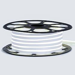 Стрічка неонова нейтральна біла 12V smd2835 120лед 6Вт 8*16 PVC герметична 1м