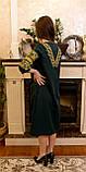 Жіночне вишите плаття зручної довжини та легкого крою🌷, фото 2