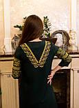 Жіночне вишите плаття зручної довжини та легкого крою🌷, фото 5