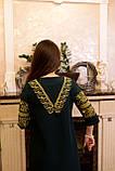 Жіночне вишите плаття зручної довжини та легкого крою🌷, фото 10