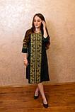 Жіночне вишите плаття зручної довжини та легкого крою🌷, фото 4