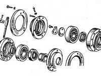 А-706Б, Щит пошипниковый