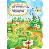 Книжка-картонка Малятко-розумнятко У саду і на городі Авт: Радушинська О. Вид: Школа, фото 3