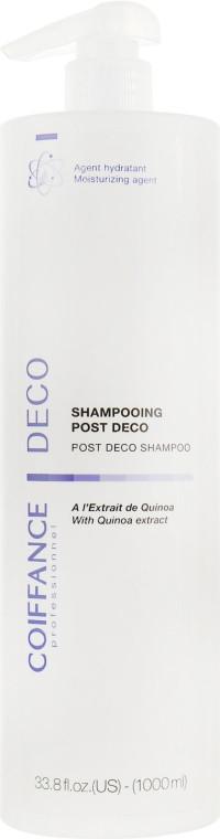 Шампунь для знебарвленого волосся Coiffance Professionnel Post Deco Shampoo 1000 мл