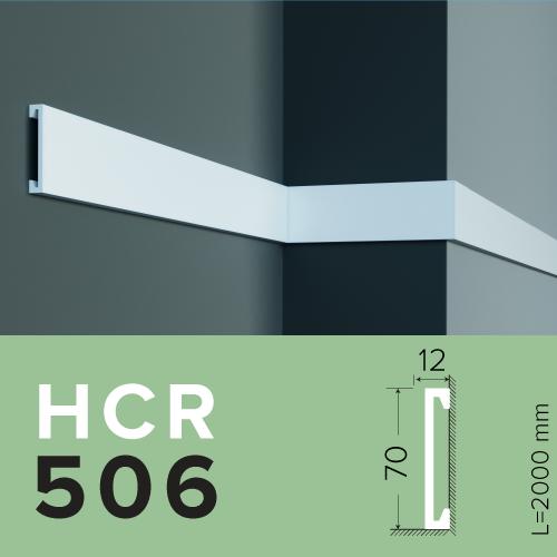 МОЛДИНГ GRAND DECOR HCR 506 (2.00М) полимерный для стен