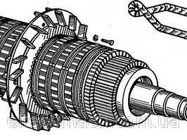 Якір двомашинного агрегату А-706Б У2 (БИІЛТ.684263.006-01)