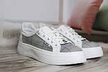 Стильные женские белые мокасины-туфли из натуральной кожи. Размеры 36-41, фото 2