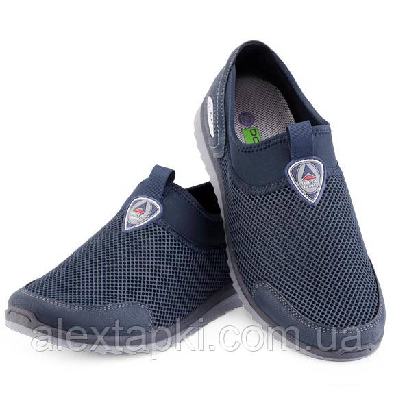 Кросівки чоловічі сітка Dago Style 29-04 СИНІЙ