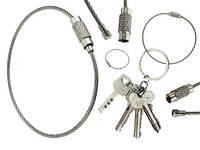 Металлическое кольцо тросик, фото 1