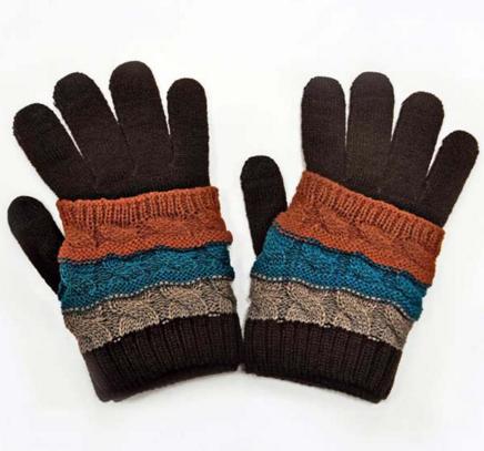 Перчатки мужские вязанные оптом