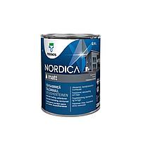Фасадная краска для дерева Teknos Nordica Matt 0.9л