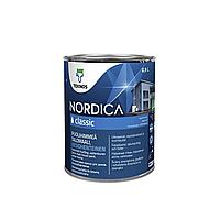 Фасадная краска для дерева Teknos Nordica Classic 0.9л