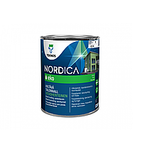 Фасадная краска для дерева Teknos Nordica Eko 0.9л