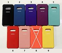 Чохол Silicone Cover для Samsung Galaxy Note10 Lite N770 / Samsung Galaxy A81 (tp)