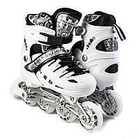 Ролики Scale Sport. White LF 905, розмір 38-41