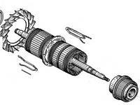 Якір 5ТХ.680.099-1, (БИЛТ.684263.051) двомашиного агрегату МВТ25/9+МВГ25/11 А У2