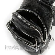 Сумка Мужская На Плечо кожа DR. BOND 66318 black, фото 3