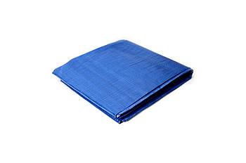 Тент Mastertool - 6 х 8 м 65 г/м2, синій 1 шт.