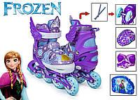 Комплект роликів Frozen Фіолетовий S 30-33