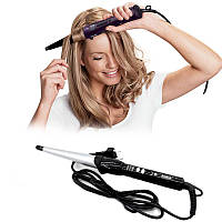 Плойка конусная с керамическим покрытиемROZIA для локонов профессиональная плойка для завивки укладки волос