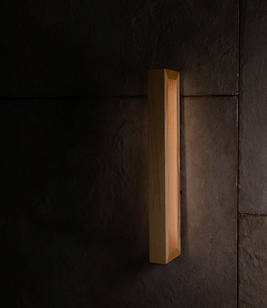 Дерев'яний настінний світильник Vela Brashka 20Вт ( Ясен )