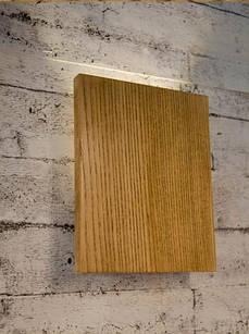Настінний світильник з дерева Vela Board 3 Вт 4000К ( Ясен )