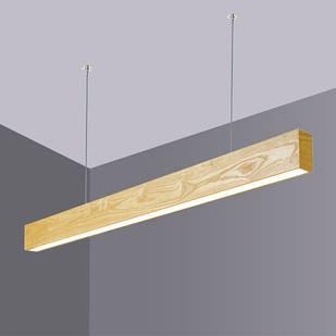 Дерев'яний LED світильник Vela Viga 30Вт ( Дуб )
