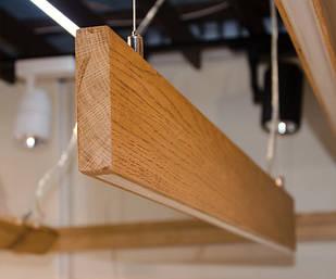 Дерев'яний LED світильник Vela Ramita S 30Вт ( Дуб )