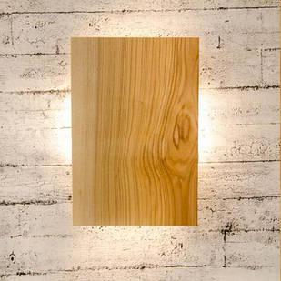 Дерев'яний настінний світильник Vela FourSides 9 Вт 4000К ( Дуб )