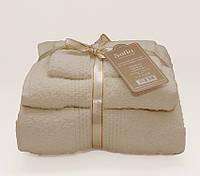 ТМ TAG Набор полотенец Sofia цвет: молочный