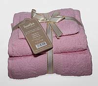 ТМ TAG Набор полотенец Sofia цвет:розовый