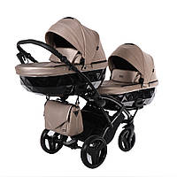 Коляска для двоих малышей - Junama Diamond Saphire Duo Slim, фото 1