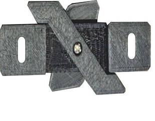Кріплення для накладного магнітного шинопровода Vela VL-MG-S20-MZK