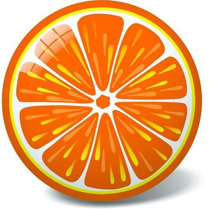 """Мяч """"Апельсин"""", 23 см 11/2944"""