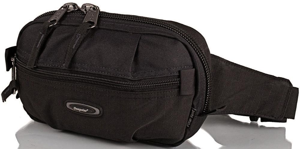 Мужская поясная сумка Onepolar W3001-black — только качественная продукция от SuperSumka
