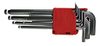 Набор ключей шестигранных с шаром 1,5-10 мм (10 шт.) дл