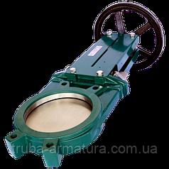 Задвижка ножевая (шиберная) межфланцевая Tecofi VG 3400-001NI Ду 100