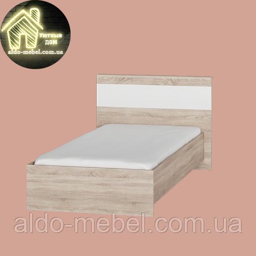 Дерев'яна односпаьная Ліжко СОНАТА Еверест 900 (2 УПАК) (2110*1030*800)