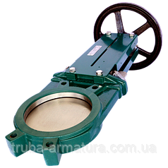 Задвижка ножевая (шиберная) межфланцевая Tecofi VG 3400-001NI Ду 150