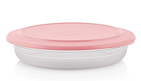 Tupperware Блюдо СК коллекция 2л с розовой крышкой