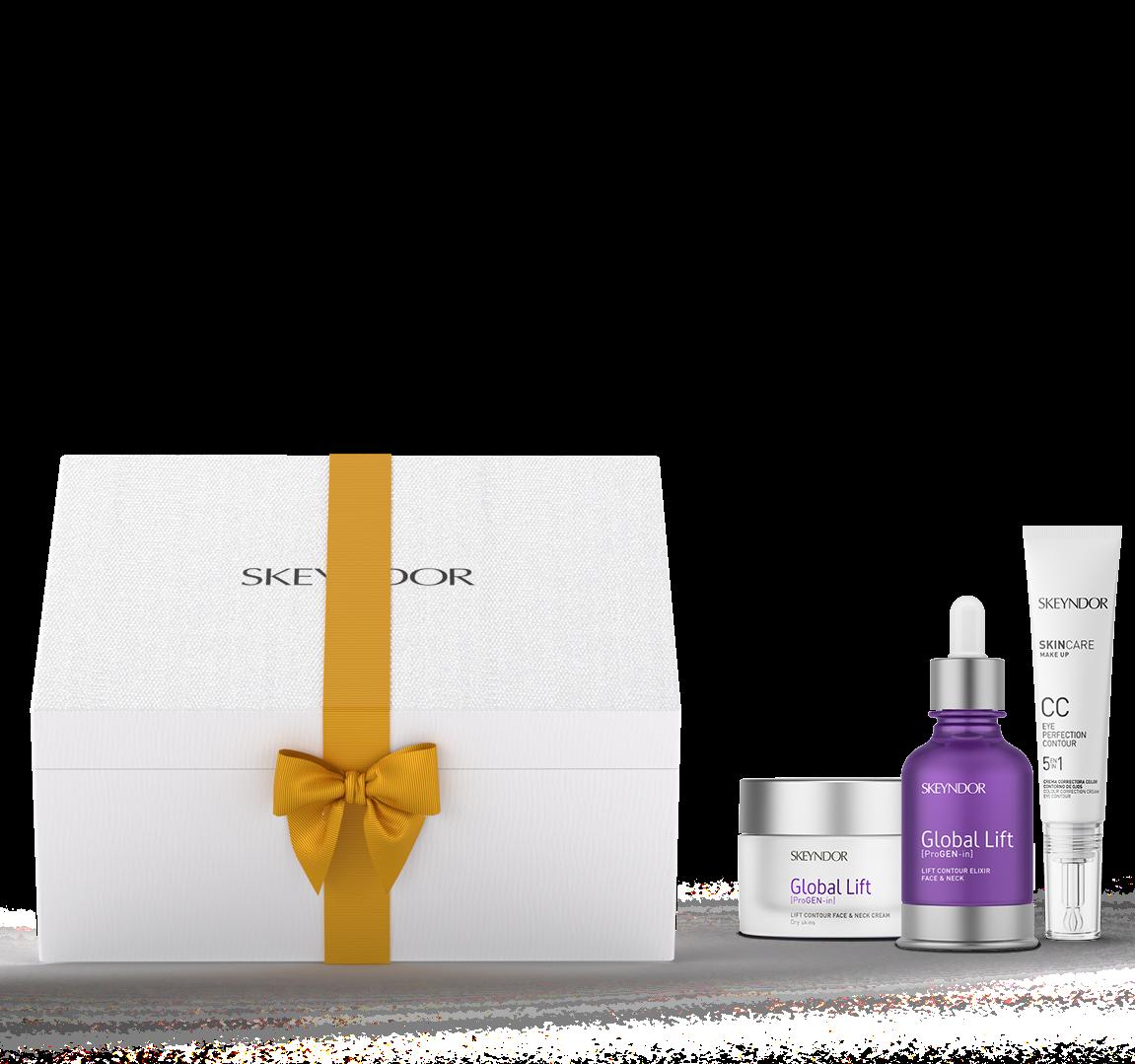 Подарочный набор Супер лифтинг для сухой кожи Skeyndor GLOBAL LIFT kit